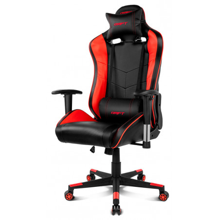 Drift DR85BR Gaming Chair Nero   Rosso Rinnovato