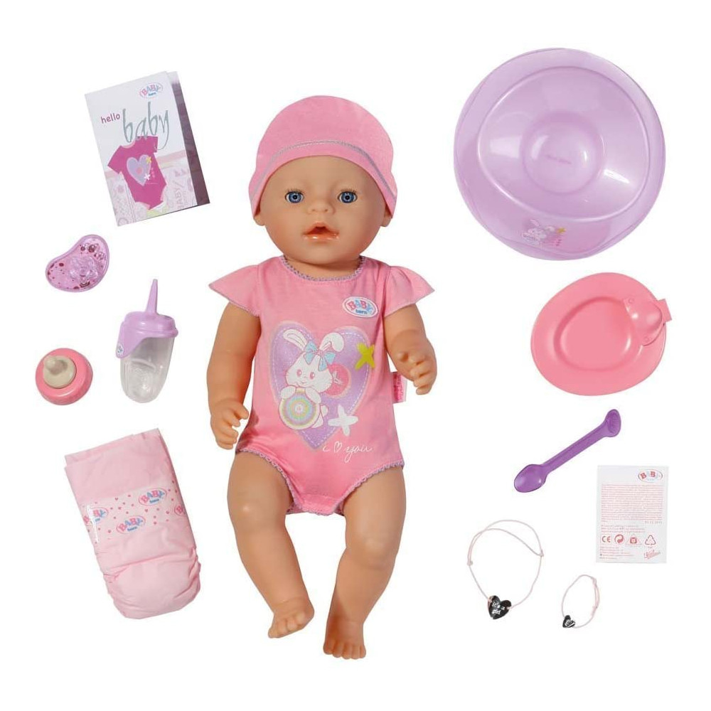 Baby Born Doll Baby, Pink Color,...